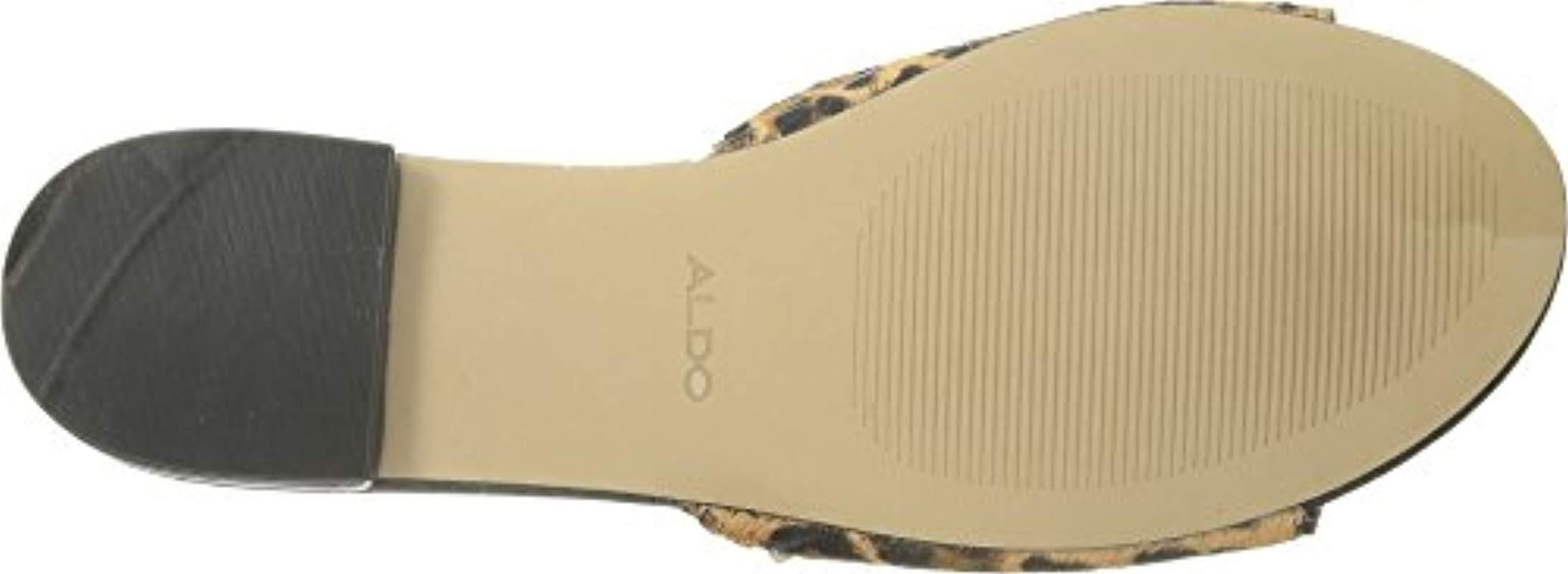a726d934ea35 ALDO - Multicolor Thoalle Slide Sandal - Lyst. View fullscreen