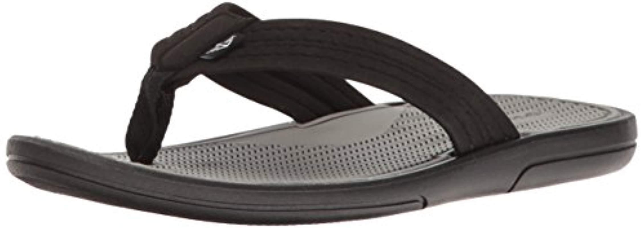 46f7bbadbe61 Lyst - Dockers Thomas Beach Walk Sandal Flip Flop in Black for Men ...