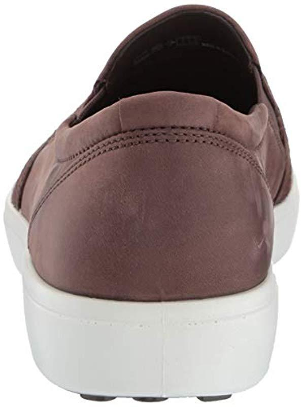 379a78c0ffef5 Ecco - Brown Soft 7 Slip On Sneaker for Men - Lyst. View fullscreen
