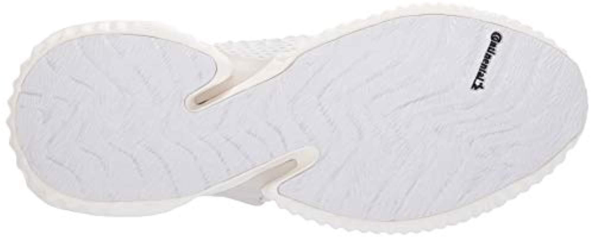 buy online 3338c eb41a Adidas - White Alphabounce Instinct Running Shoe for Men - Lyst. View  fullscreen