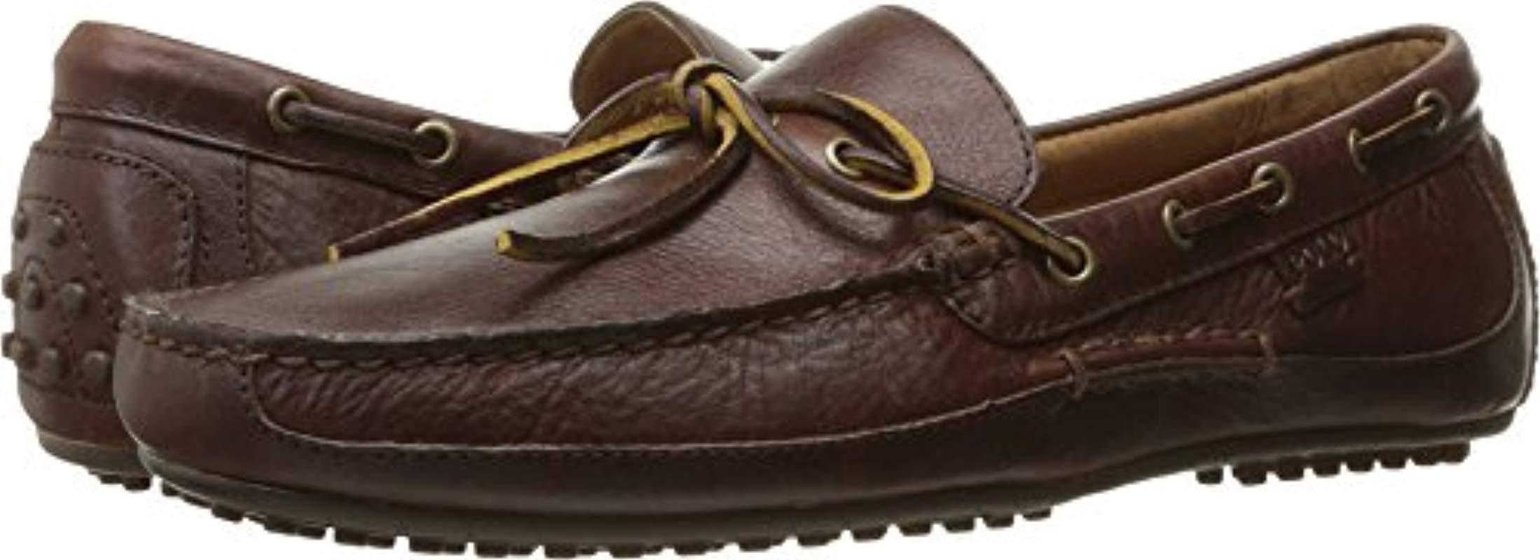 Lyst - Polo Ralph Lauren Wyndings Driving Style Loafer in Brown for Men ea9679b08a2