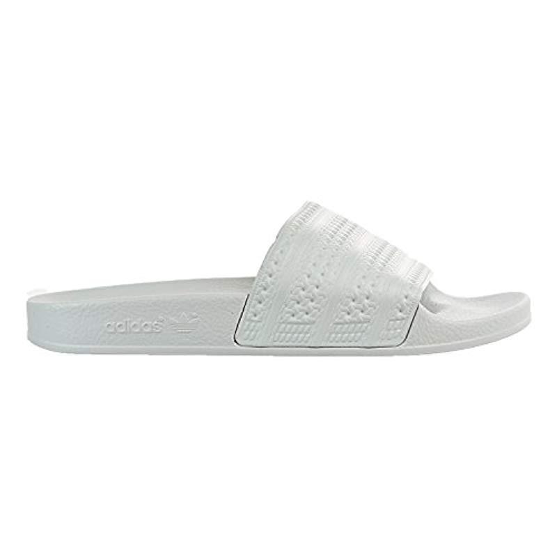 Lyst - Adidas Originals Adilette Slide Sandal for Men 9d3169bbf