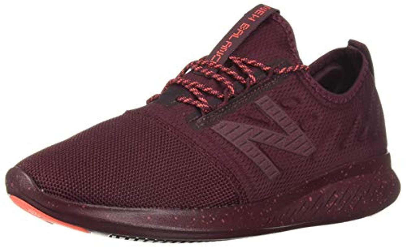 6d8b1048ae0 Lyst - New Balance Coast V4 Fuelcore Running Shoe in Red - Save 30%