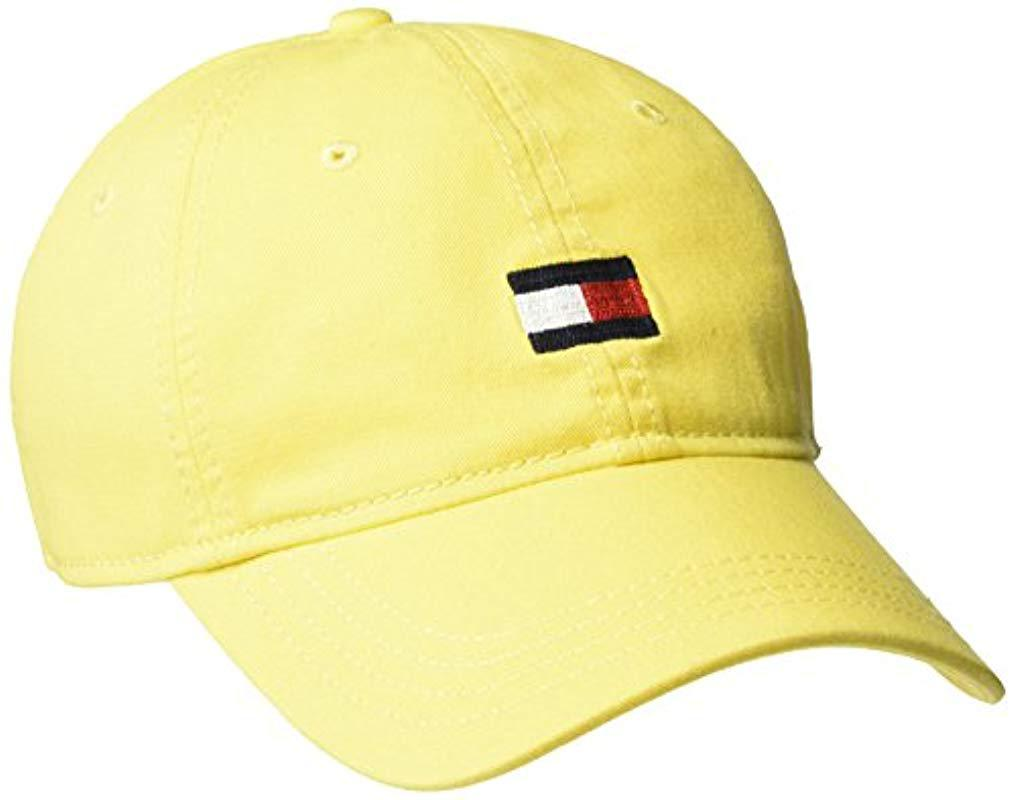 8446b329 Lyst - Tommy Hilfiger Ardin Dad Hat in Yellow for Men