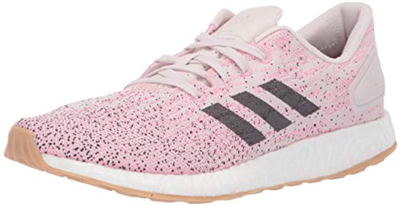 e62ec4076422d Lyst - adidas Pureboost Dpr in Pink