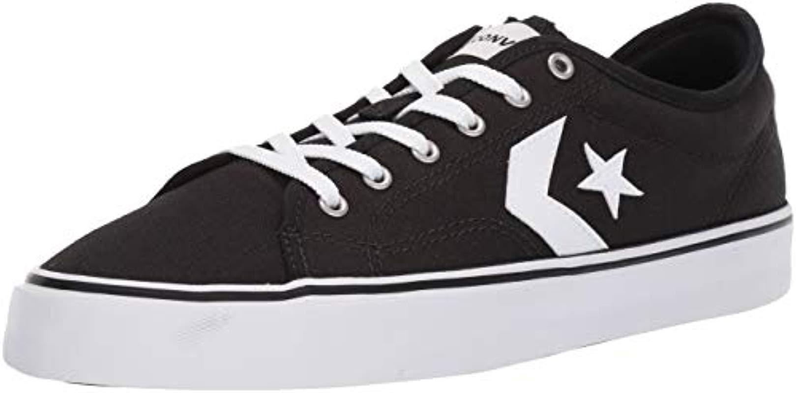 Lyst - Converse Unisex Star Replay Low Top Sneaker in White for Men 2f779c291