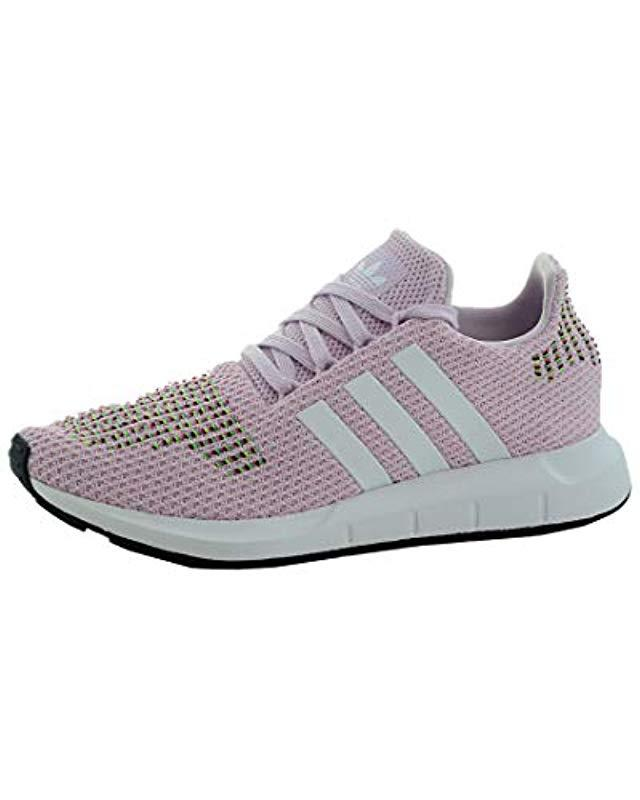 c91f76233bba0 Lyst - adidas Originals Swift Run Trainers Aero Pink footwear White core  Black in Pink - Save 42.35294117647059%