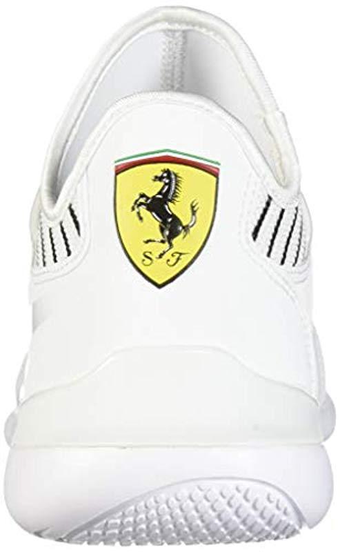PUMA - White Ferrari Evo Cat Mace Sneaker for Men - Lyst. View fullscreen 142a24c94