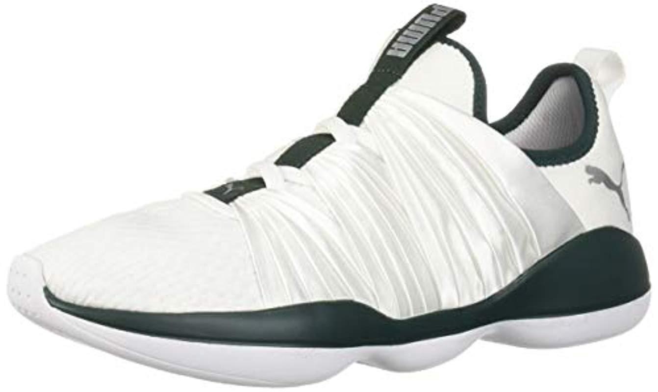 d403ad75b28 PUMA - White Flourish Sneaker - Lyst. View fullscreen