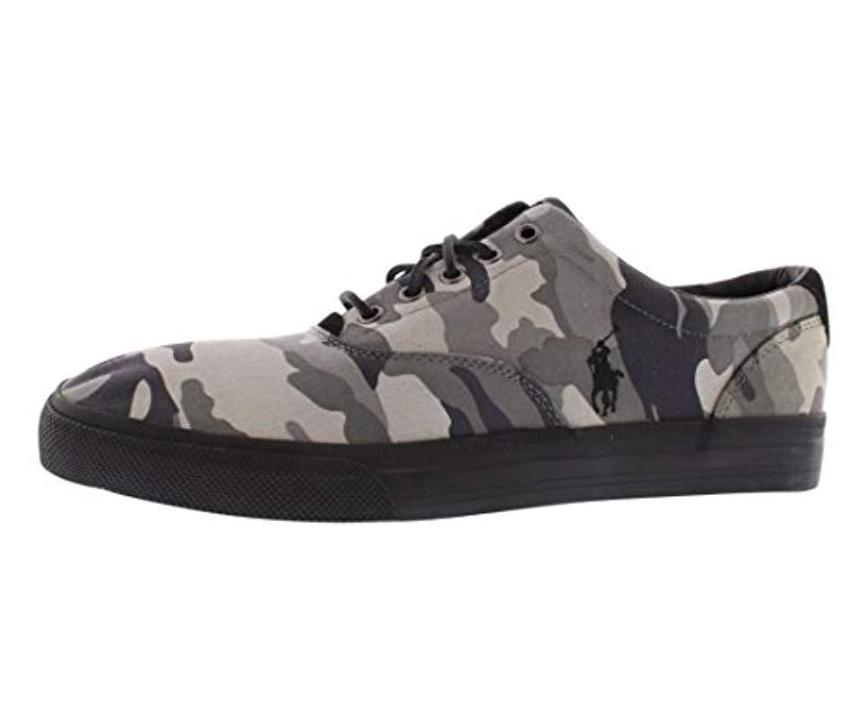 1e67e6168f477 Lyst - Polo Ralph Lauren Vaughn Fashion Sneaker in Black for Men