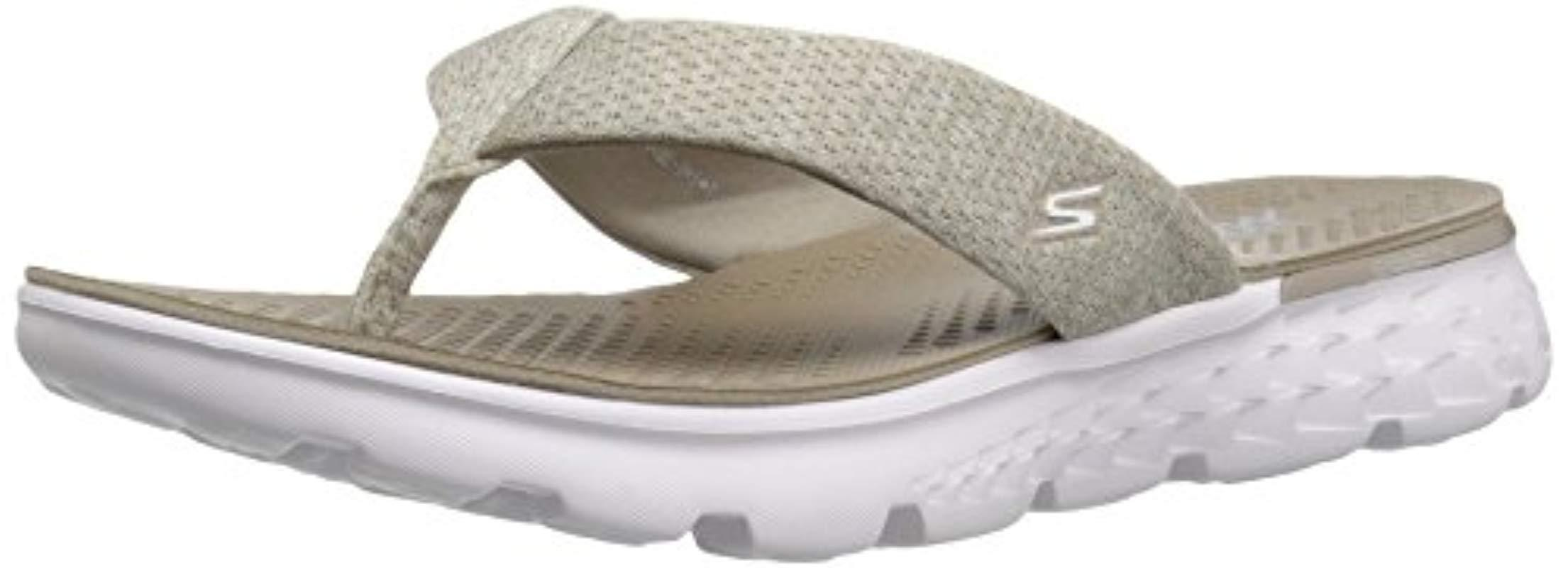 a2ee434692c Lyst - Skechers Performance On The Go 400 Vivacity Flip Flop in ...
