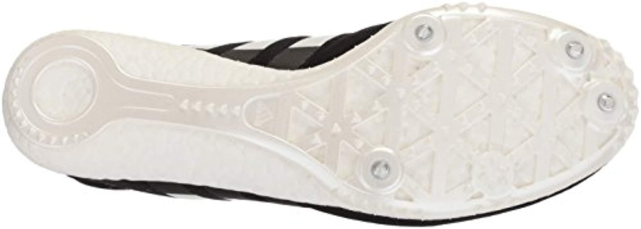 finest selection 1169b 81c44 Lyst Adidas Adizero Avanti Track Shoe In Black For Men Save 9