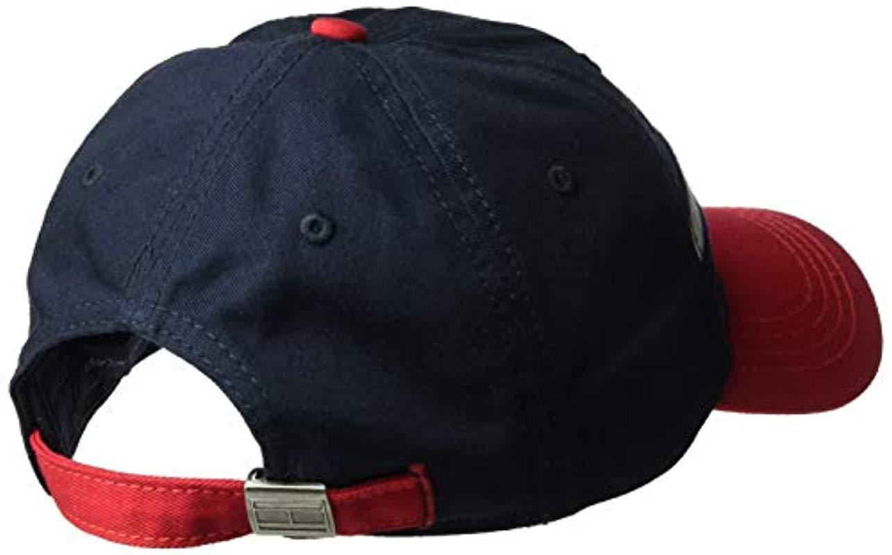 6034a769c33 Tommy Hilfiger - Blue Avery Dad Hat for Men - Lyst. View fullscreen