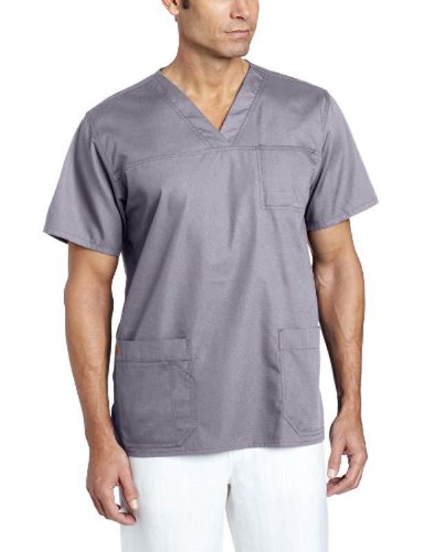 c6f04cde9fa Carhartt Ripstop Multi-pocket Scrub Top for Men - Save 4% - Lyst