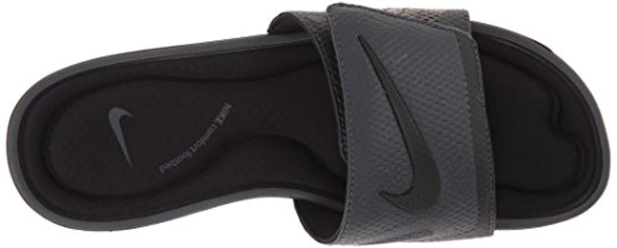 4a72aa982bf4 Nike - Black Solarsoft Comfort Slide Sandal for Men - Lyst. View fullscreen