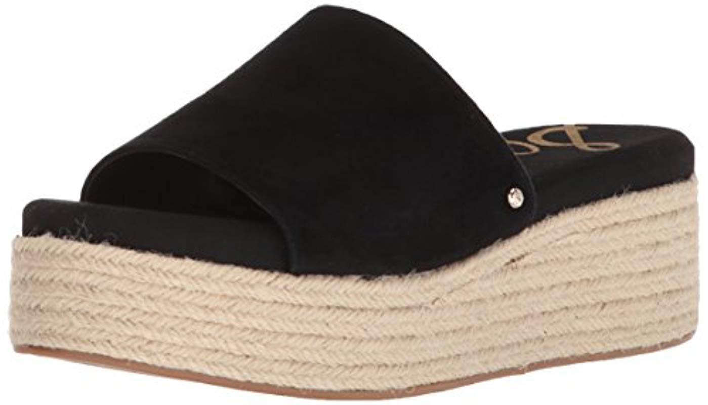 9950d218c Lyst - Sam Edelman Weslee Slide Sandal in Black - Save 59%
