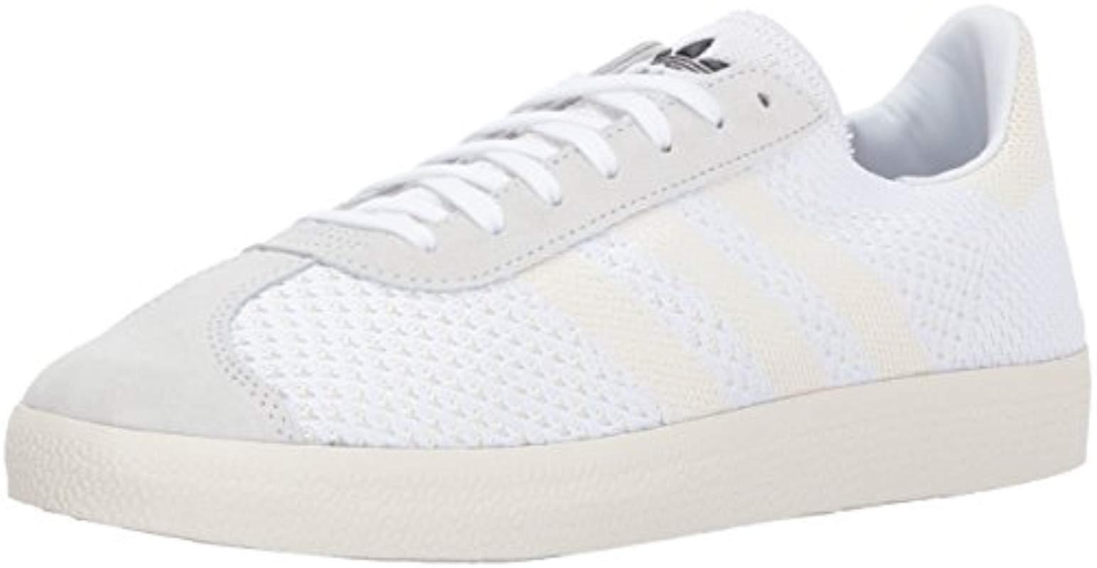 check out 59252 289ab adidas Originals. Mens White Gazelle Pk Sneaker