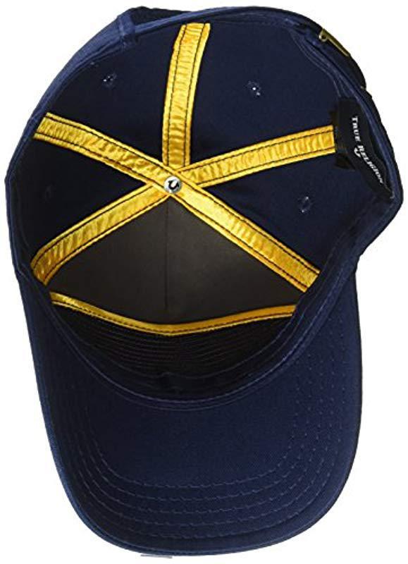 2327c04e True Religion Shattered Horseshoe Cap in Blue for Men - Save 32% - Lyst