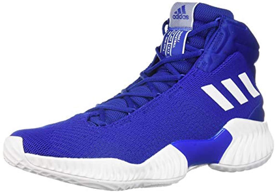 c1efcd3bc32 Adidas Originals - Blue Pro Bounce 2018 Basketball Shoe for Men - Lyst.  View fullscreen