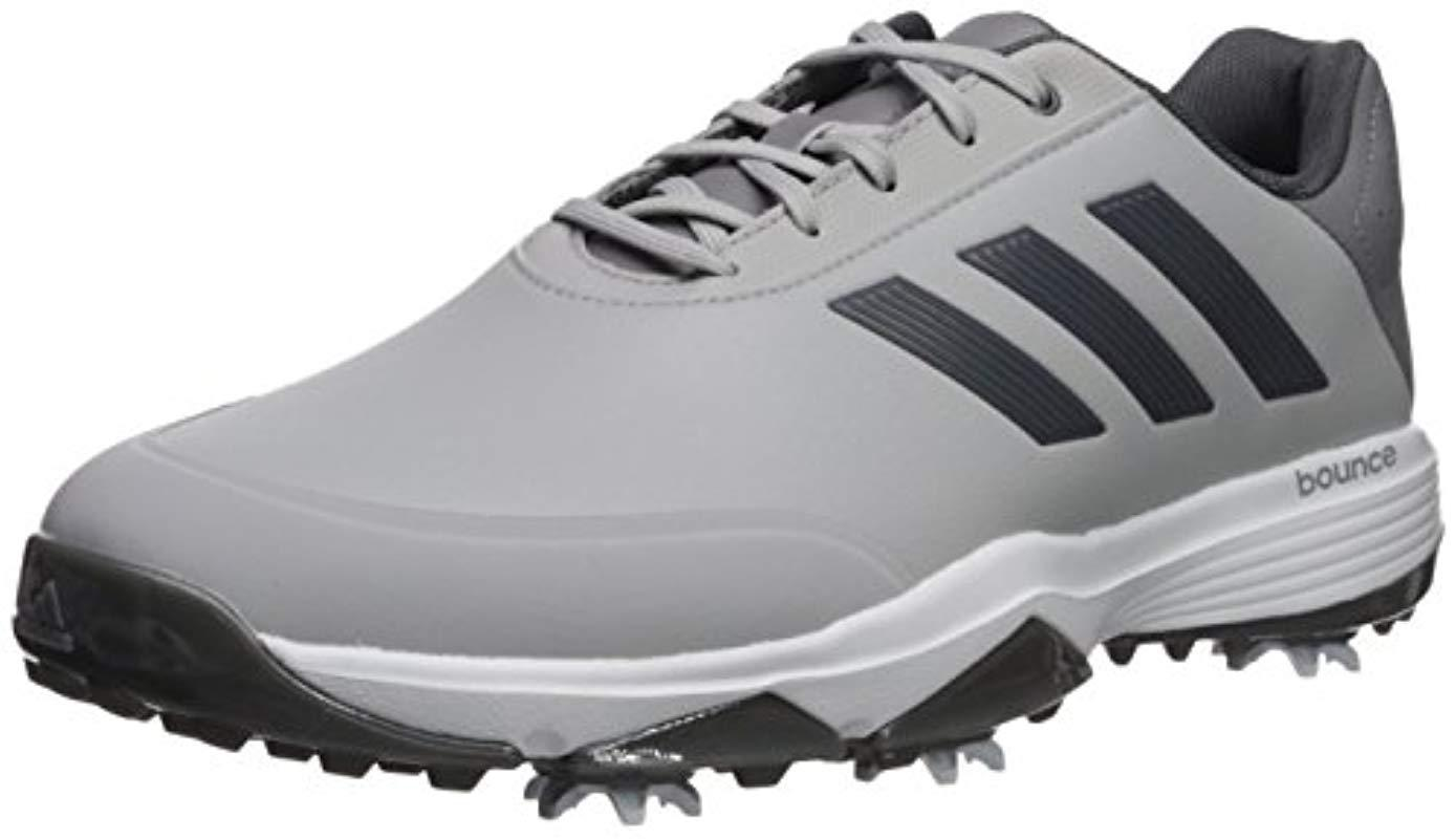 premium selection 6eef7 8879a adidas. Mens Gray Golf Adipower Bounce Golf-shoes