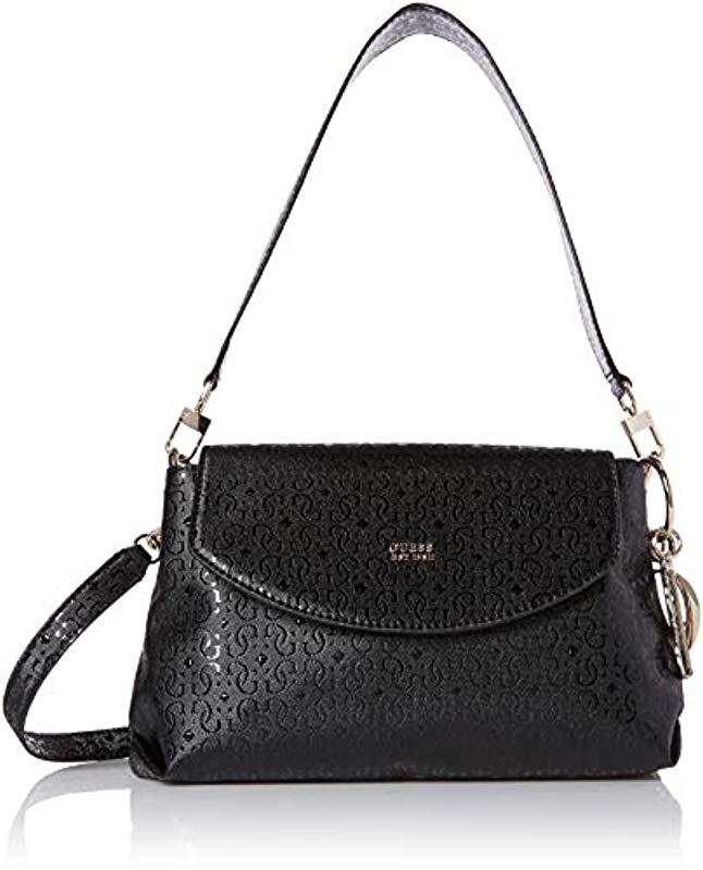 3976bed5f11a Lyst - Guess Tamra Shoulder Bag in Black