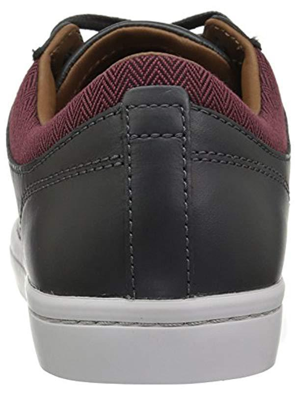 4cfb1f8b23aa62 Lyst - Lacoste Straightset 417 1 Sneaker in Gray for Men - Save 20%