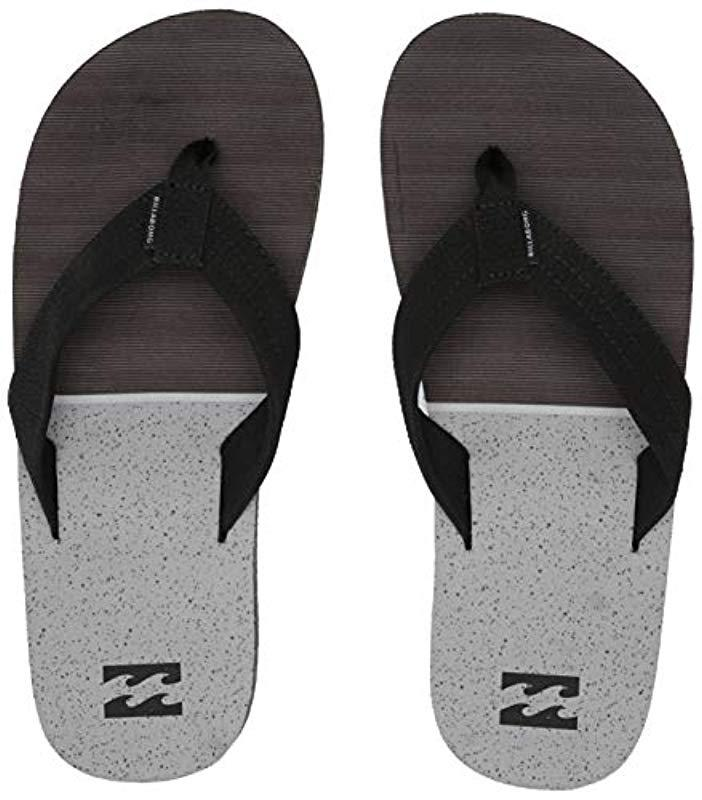 Lyst - Billabong Fifty 50 Flip-flop in Black for Men e6f5d3e8260