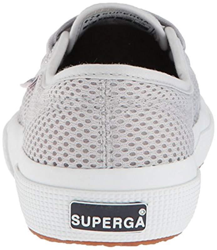 2198a316c12f3 Lyst - Superga 2750 Meshu Sneaker in Gray - Save 42%