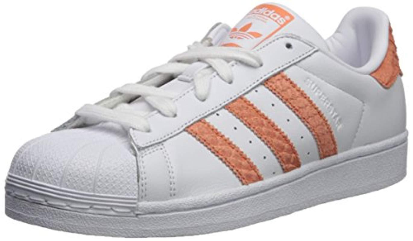 super popular 15147 8fc1b Lyst - adidas Originals Superstar W, Whitechalk Corallegacy,
