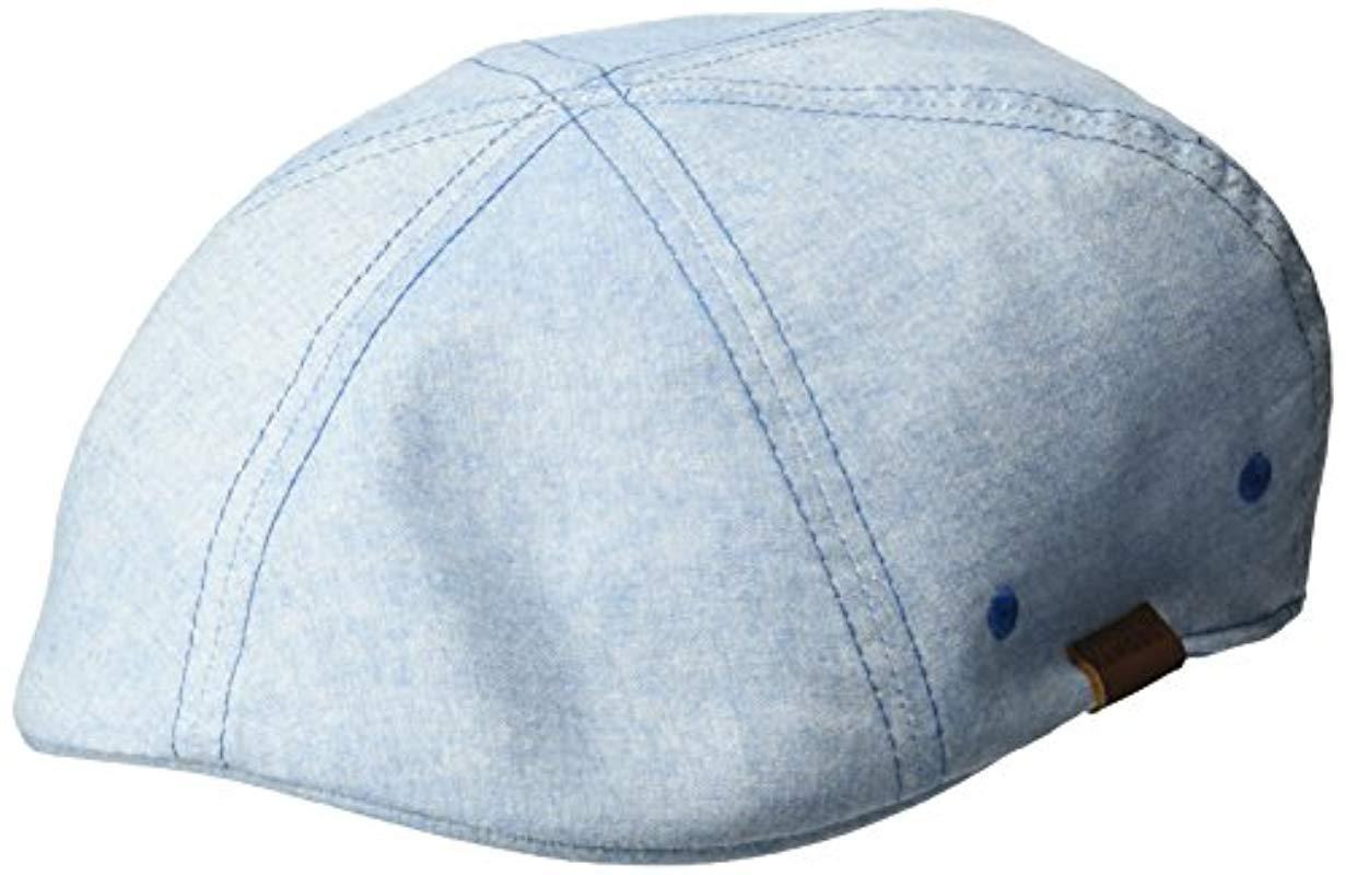 70716339d274a Lyst - Kangol Pattern Flexfit 504 Ivy Cap in Blue for Men - Save 13%