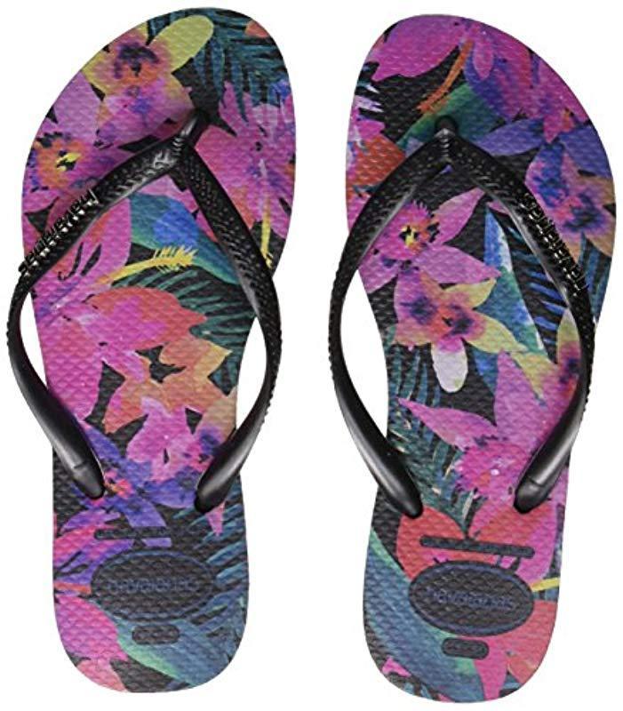 b240e1e9f Havaianas. Women s Black Slim Flip Flop ...