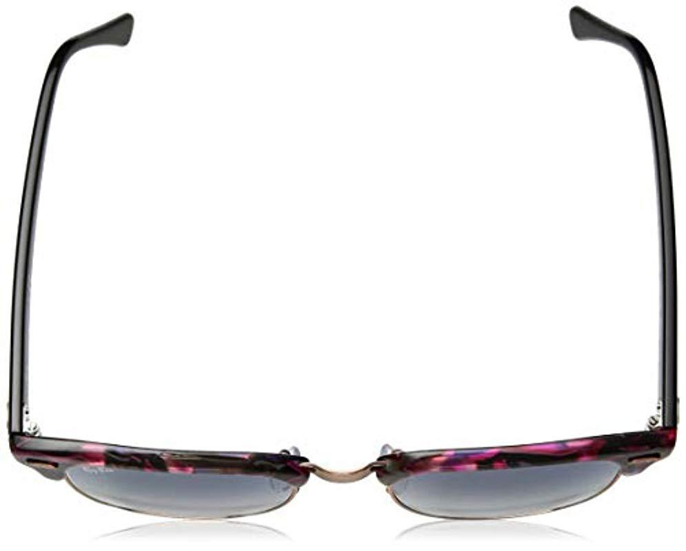3dcdd2461514d Lyst - Ray-Ban Clubmaster Square Sunglasses