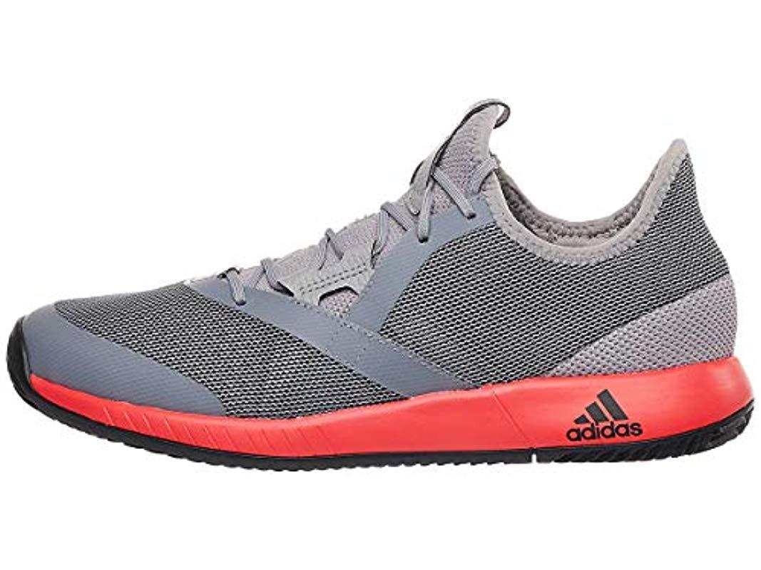 a8fd96e2fa1e Adidas - Black Adizero Defiant Bounce Tennis Shoe for Men - Lyst. View  fullscreen