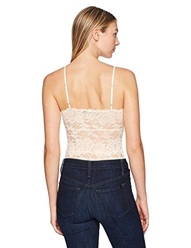 f532a802c3 Lyst - Guess Sleeveless Dante Lace Up Bodysuit - Save 65%