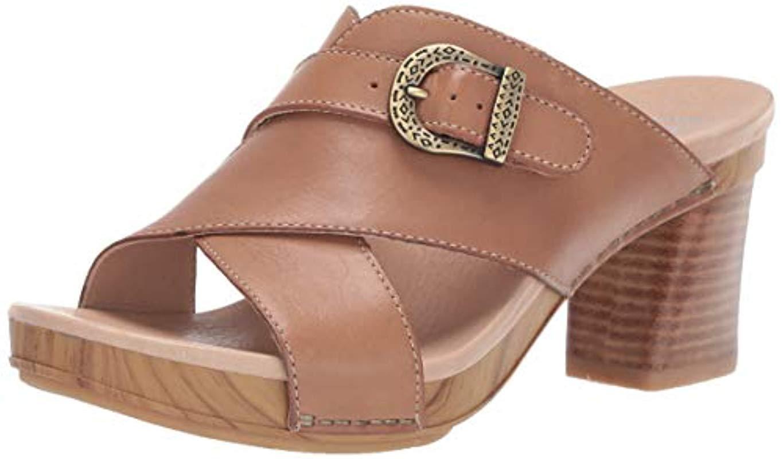 a73a5d833849 Lyst - Dansko Amy Slide Sandal in Brown