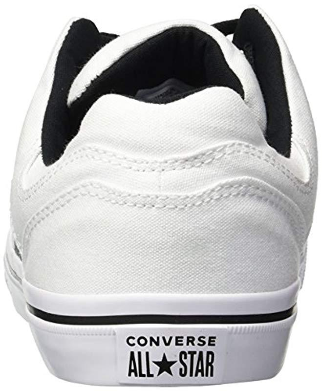 fa3cde65c06f52 Lyst - Converse El Distrito Canvas Low Top Sneaker in White for Men