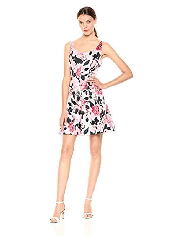 99fd3a81bce9 Nine West. Women s Fit And Flare Tank Dress