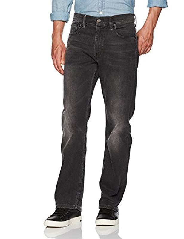 b743c855e74 Lyst - Levi's 569 Loose Straight-leg Jean in Black for Men
