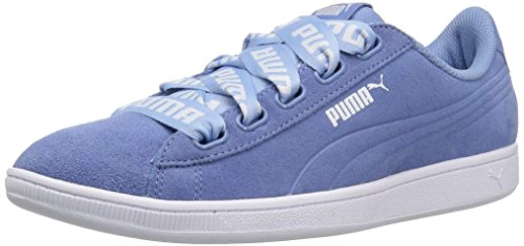 05f0c1900e6f PUMA - Blue  s Vikky Ribbon Bold Trainers - Lyst. View fullscreen