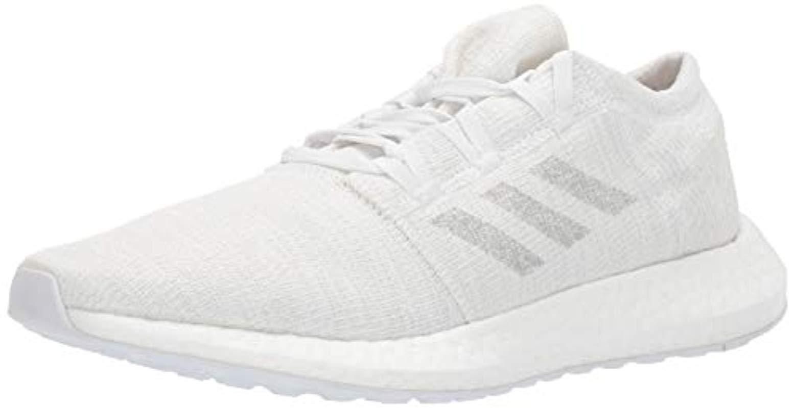 785415f2a2885 Adidas - Pureboost Go, Solid Grey/crystal White, 12.5 M Us for Men - Lyst