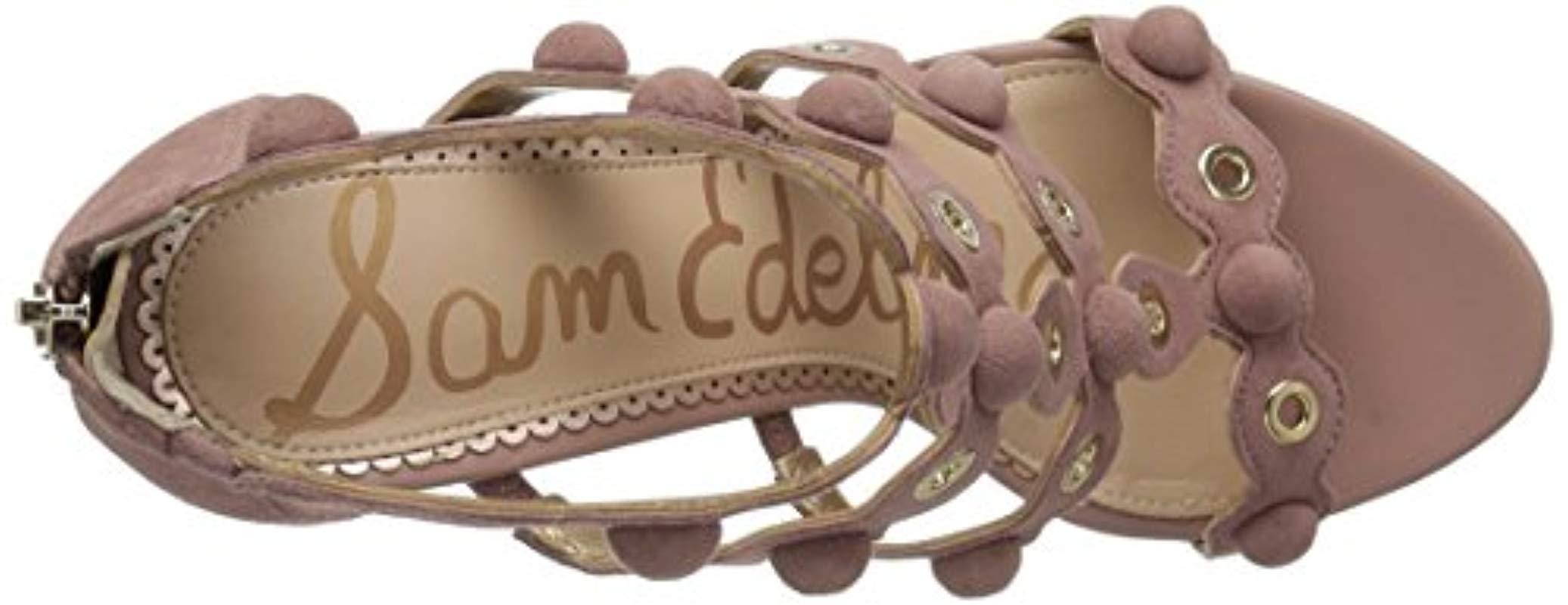 7db0b50a55e5 Sam Edelman - Multicolor Yuli Heeled Sandal