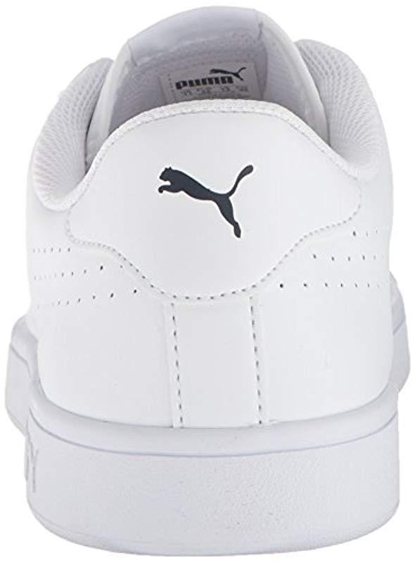 PUMA - White Smash Leather Perf Sneaker for Men - Lyst. View fullscreen ff94fcb36