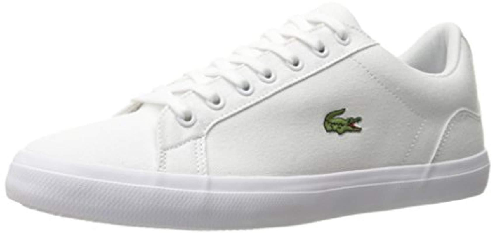 ede772411 Lyst - Lacoste Lerond Bl 2 (white) Men s Shoes in White for Men ...
