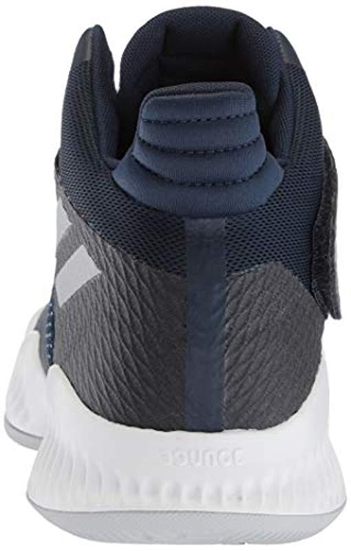 86f1fb17e Adidas - Blue Explosive Bounce 2018 Basketball Shoe for Men - Lyst. View  fullscreen