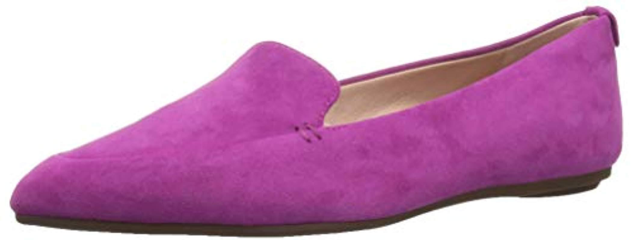 69ac2ab695b Lyst - Taryn Rose Faye Loafer Flat in Purple