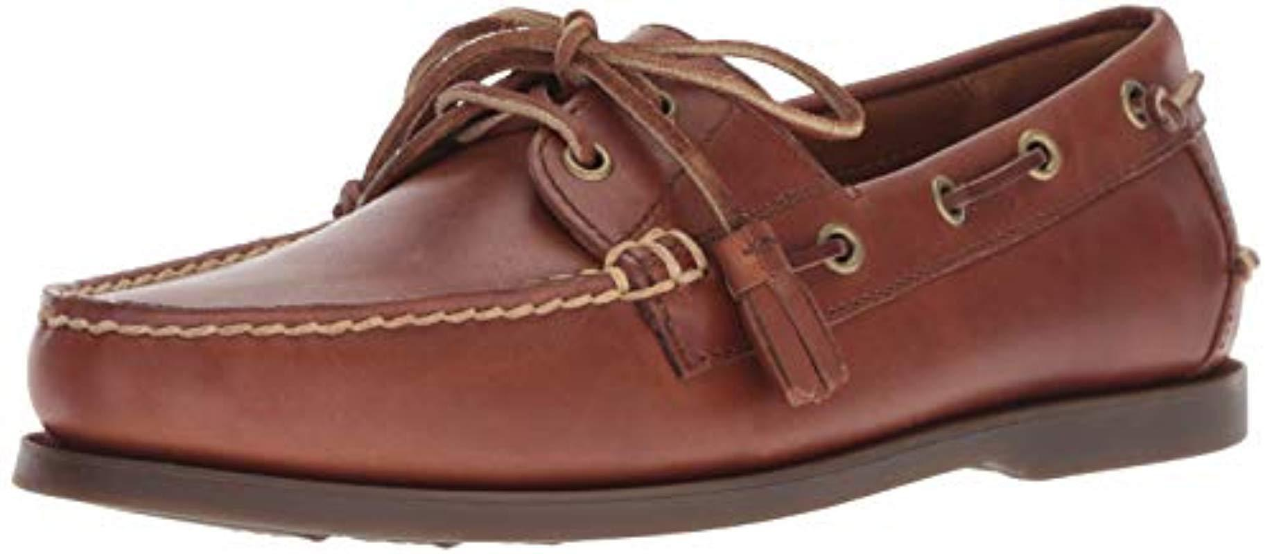 144461bcaf1 Lyst - Polo Ralph Lauren Merton Boat Shoe for Men