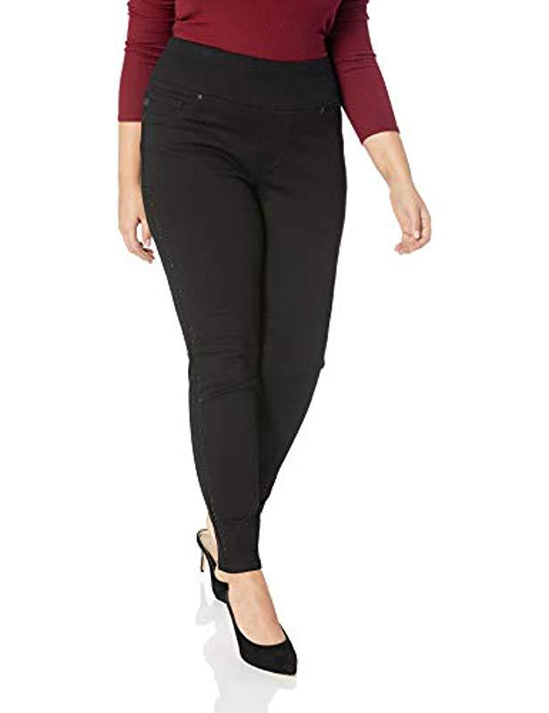 a5f36376 Lyst - Lee Jeans Plus Size Sculpting Slim Fit Skinny Leg Pull On Jean