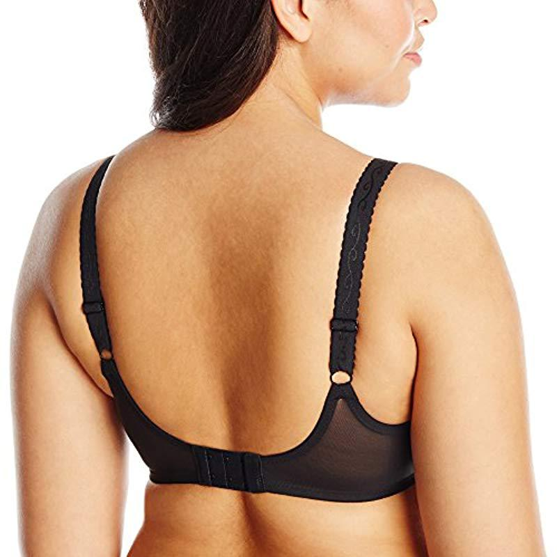 e987ca9f14 Wacoal - Black Full Figure Simple Shaping Minimizer Bra - Lyst. View  fullscreen