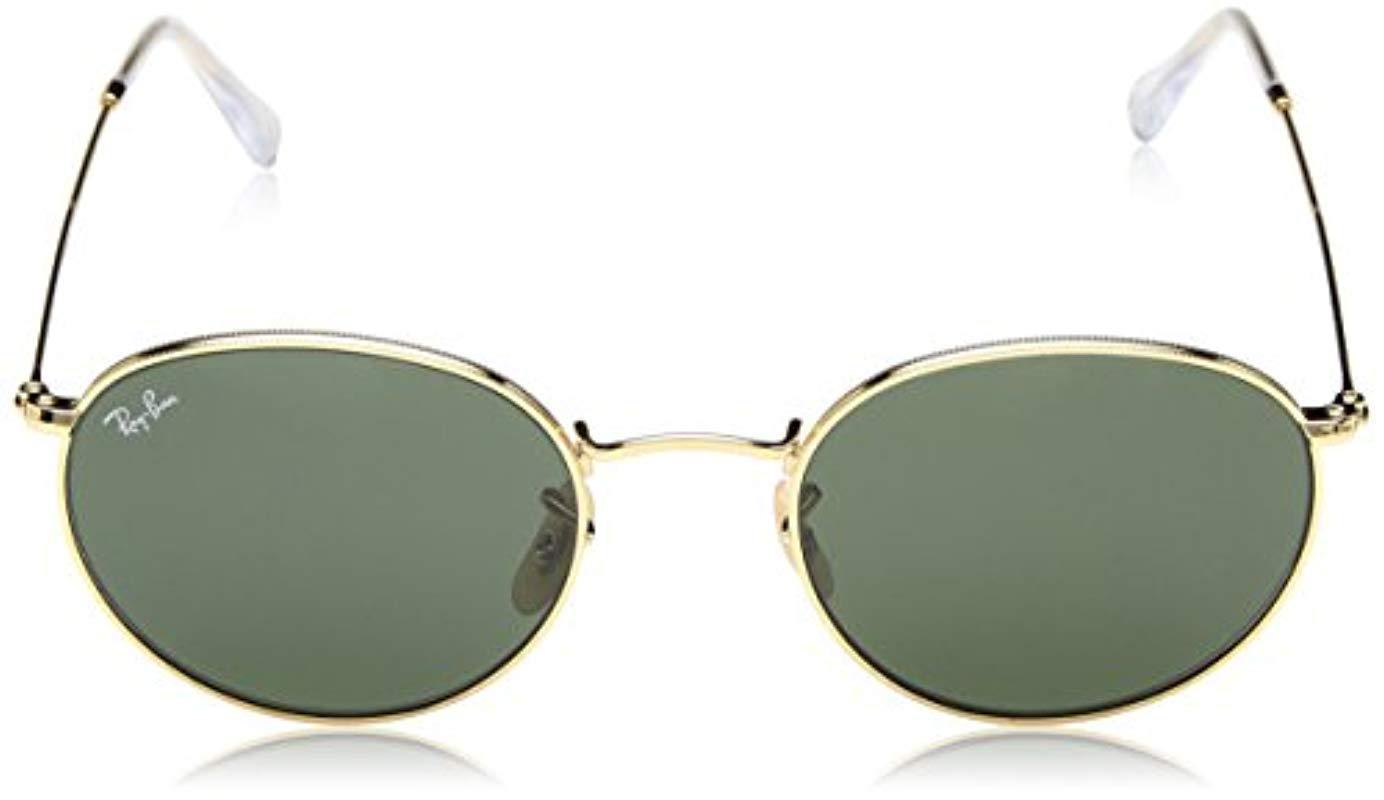 f5c4fc36d0 Lyst - Ray-Ban Orb3447 Polarized Round Sunglasses for Men