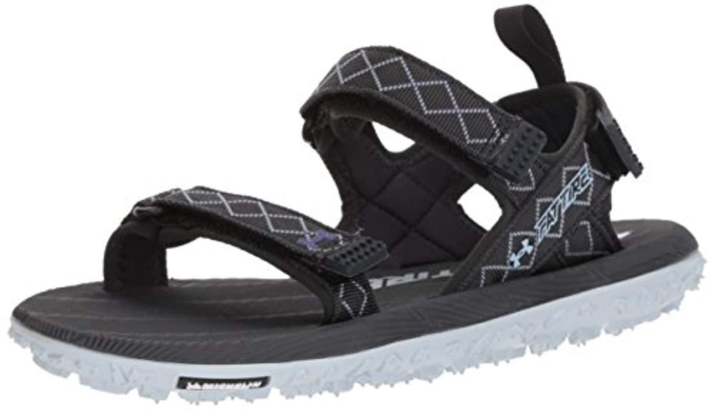 uk availability d5208 f99df Lyst - Under Armour Fat Tire Sandal Hiking Shoe in Blue ...